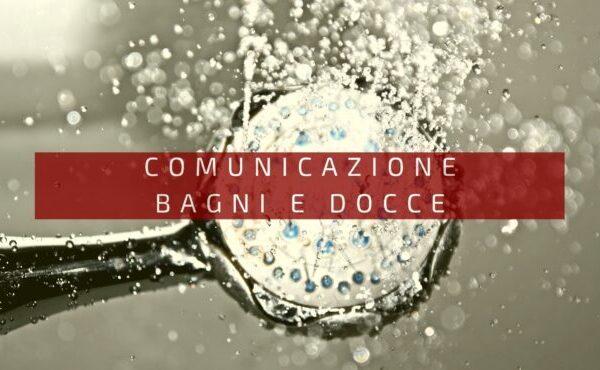 Comunicazione bagni e docce